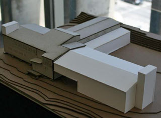 model of the phase 1 SSC addition